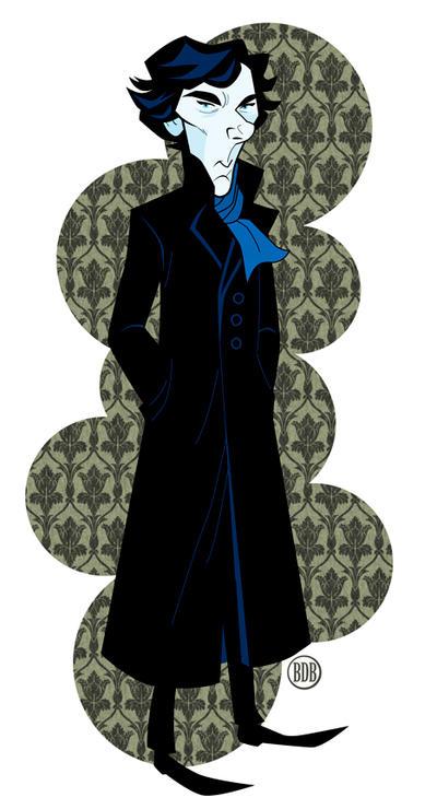 BBC's Sherlock by belledee