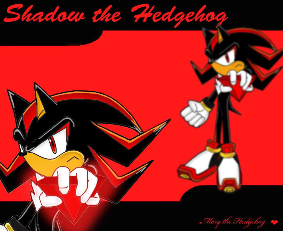Shadow the Hedgehog Wallpaper by Mery-the-Hedgehog