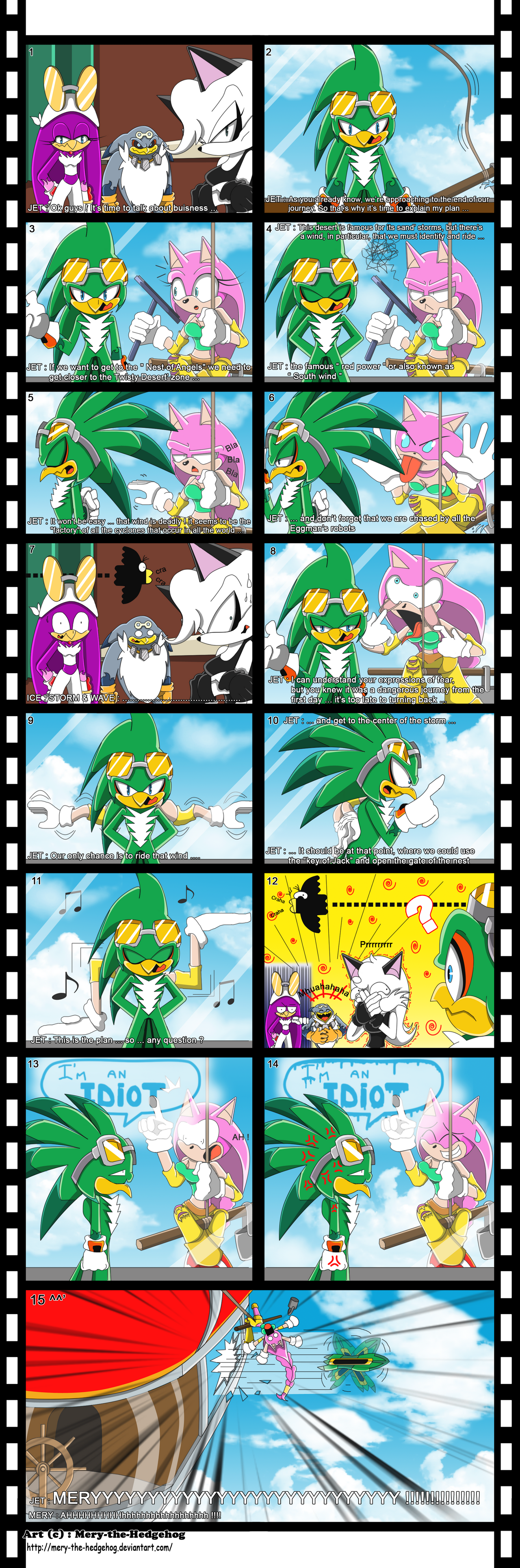 Jet The Hawk And Wave The Swallow The great plan of jet byJet And Wave