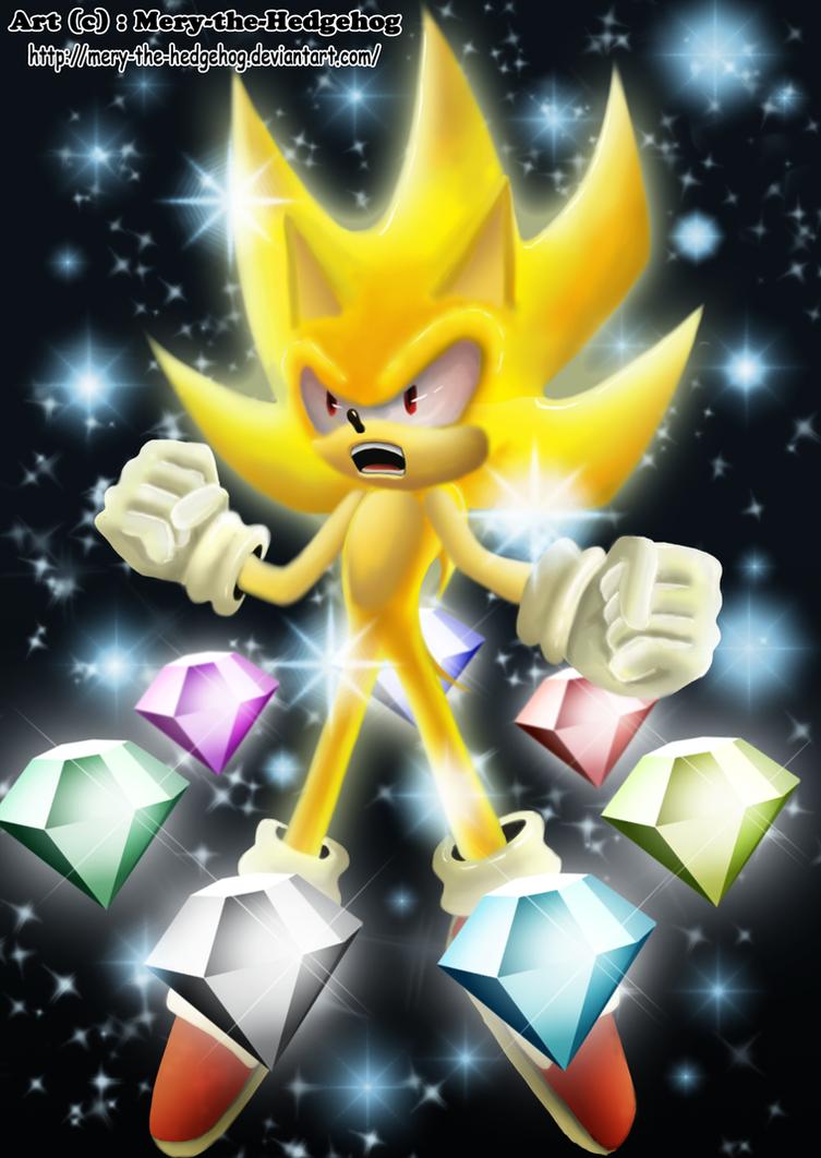 Super sonic by mery the hedgehog on deviantart - Super sonic 6 ...