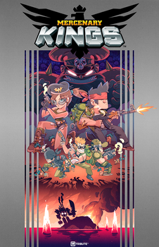 Mercenary Kings Box Art