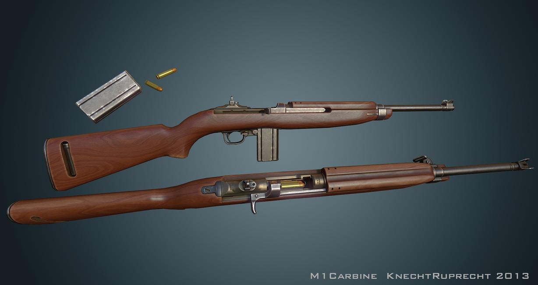 M1 Carbine by Kn3chtRuprecht