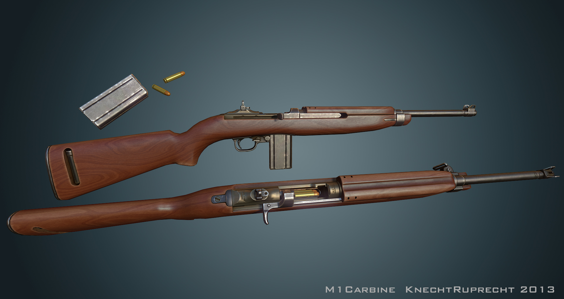 M1 Carbine by Kn3chtRuprecht