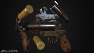Type 10 Flare Pistol by Kn3chtRuprecht