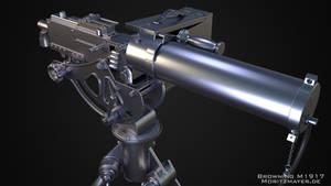 Browning M1917 Highpoly V2.0