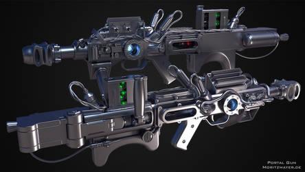 Portal Gun Highpoly by Kn3chtRuprecht