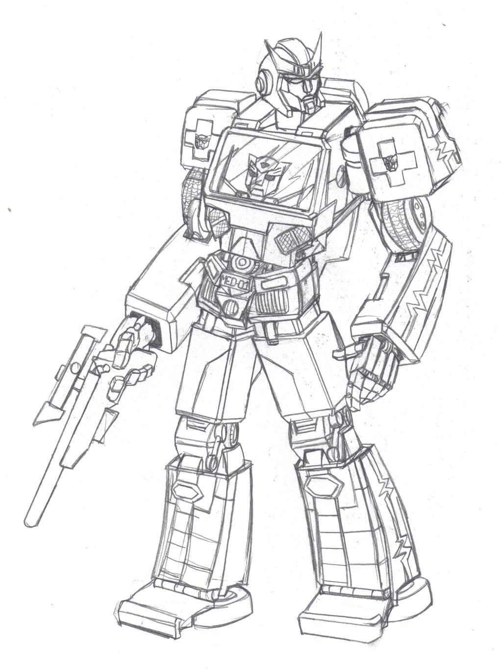 Autobot Recon Ratchet By Chaoslanternxxx On Deviantart