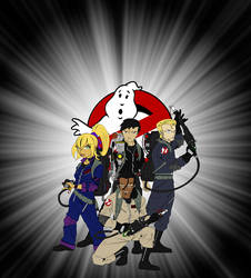 ultimate ghostbusters by chaoslanternxXx