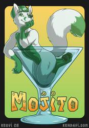 Conbadge -- Mojito Fox