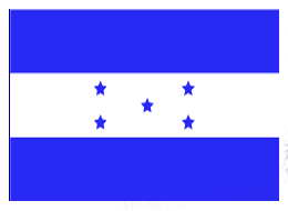 Honduras Flag Stamp by water16dragon