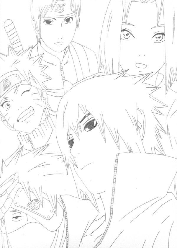 Team 7 Shippuuden. by NagatoSan on DeviantArt