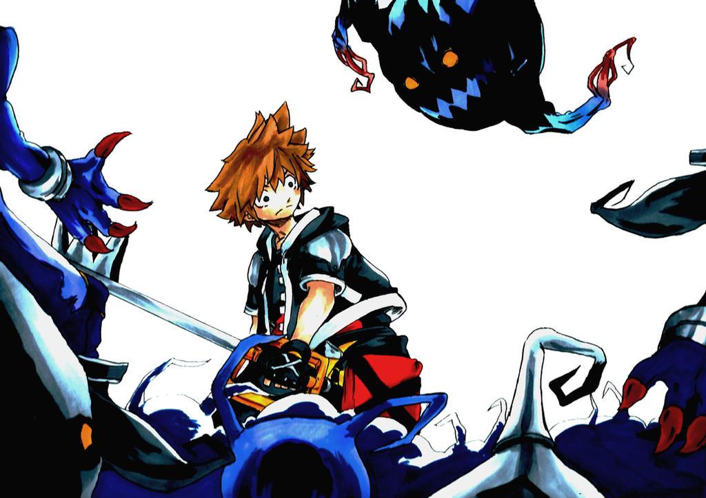 Kingdom Hearts Fan Art by Jaekwonp