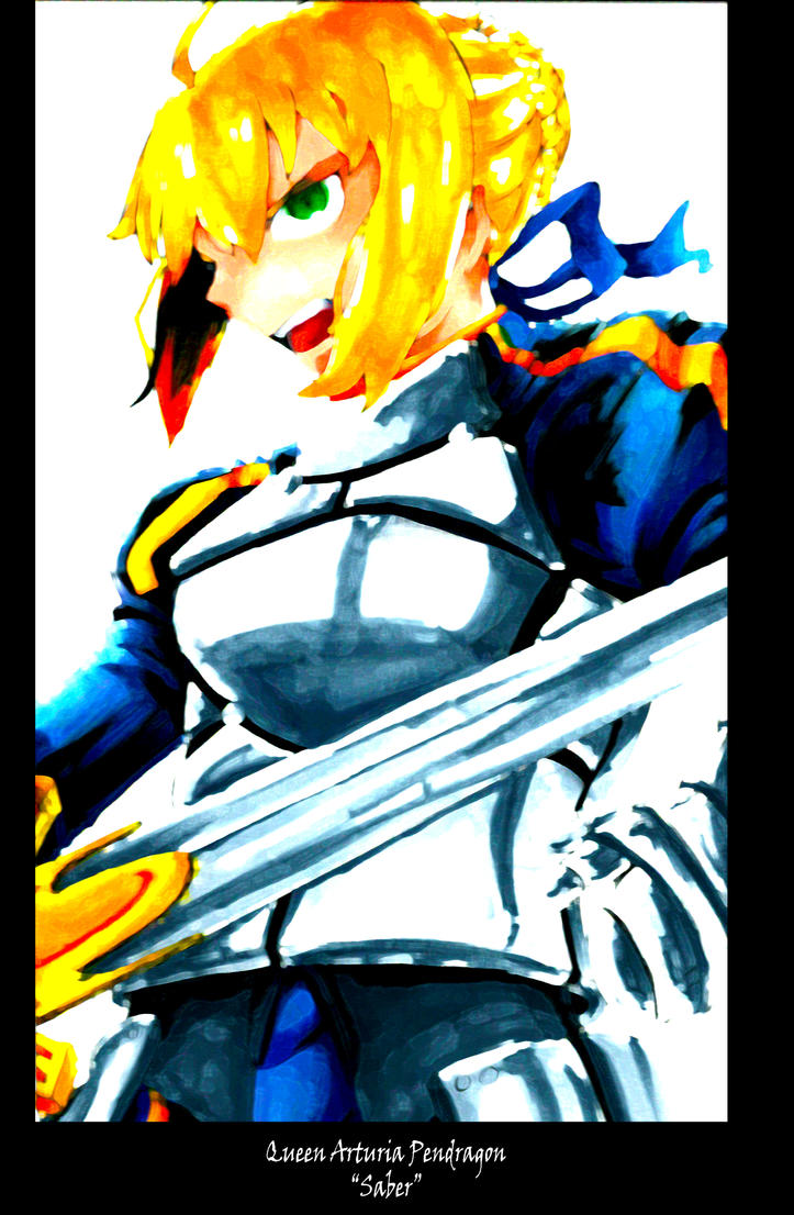 SABER FAN ART by Jaekwonp