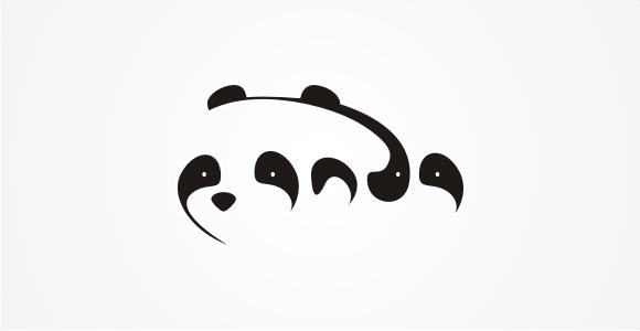 panda logo by Oz21
