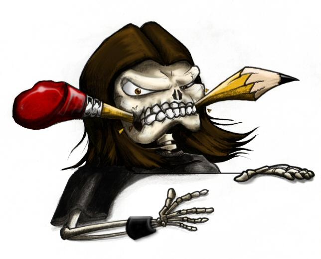 oz skull by Oz21