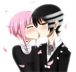 .:Kiss me, idiot.:. by melloskitten