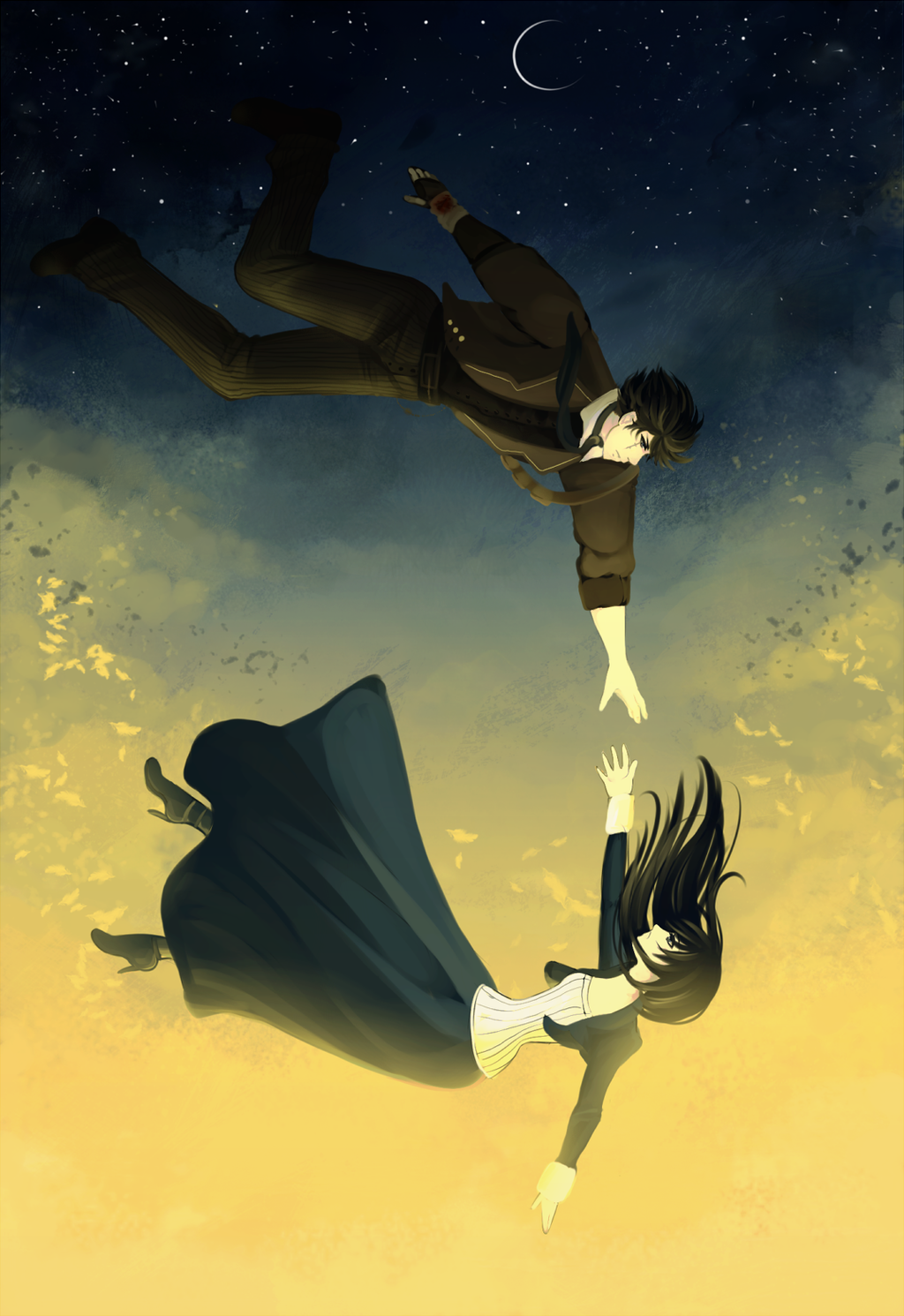 Anime Characters You Fall In Love With : Cdr falling by melloskitten on deviantart