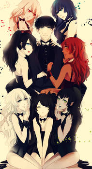 .: CdR : 7 beauties and the lucky idiot :.