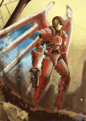Ironman by James-in-the-Shell