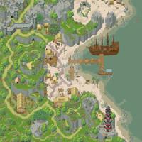 [RPG Maker Map] Port of Fantasia by Veresik