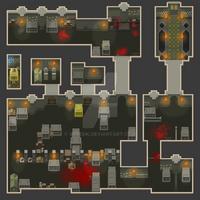 [RPG Maker Map] Catacombs by Veresik