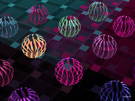 Ribbons On The Grid by tiffrmc720