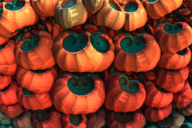 Ghostly Gourds