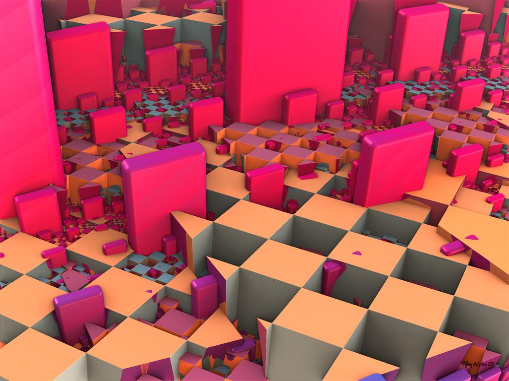 Pink Monoliths by tiffrmc720