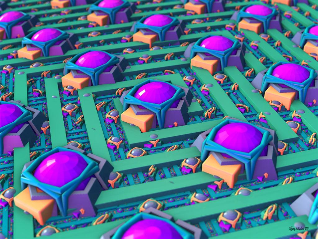Dome City Labyrinth