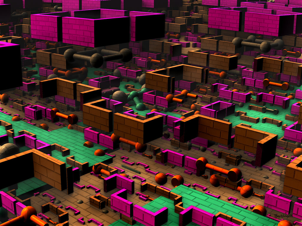 Brick City Of The Future (2186 AD)