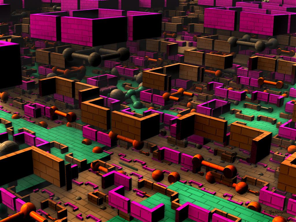 Brick City Of The Future (2186 AD) by tiffrmc720