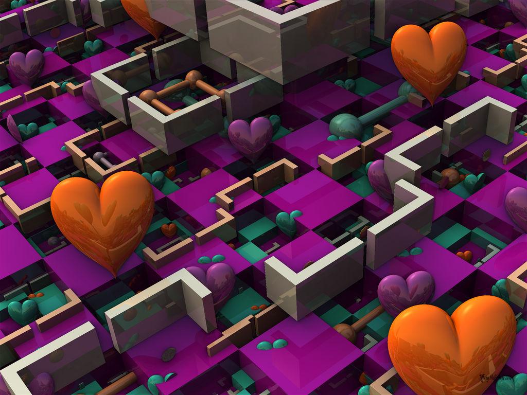 Love Cubicles (Dark) by tiffrmc720