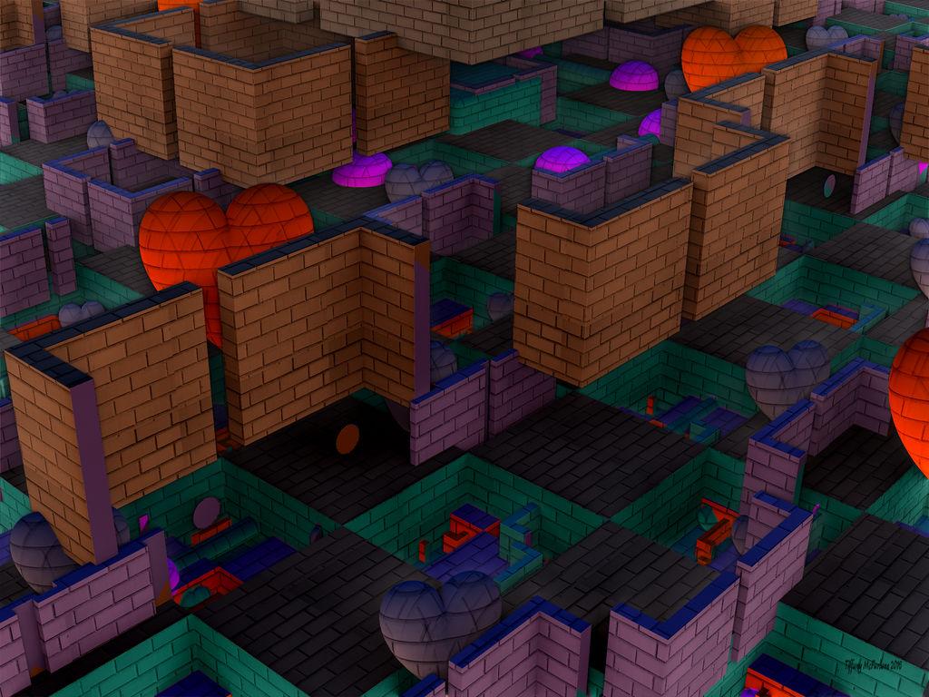 Behind The Brick Wall by tiffrmc720