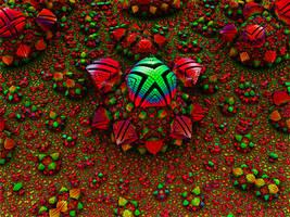 Alien Fractal Flower by tiffrmc720