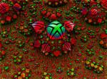 Alien Fractal Flower