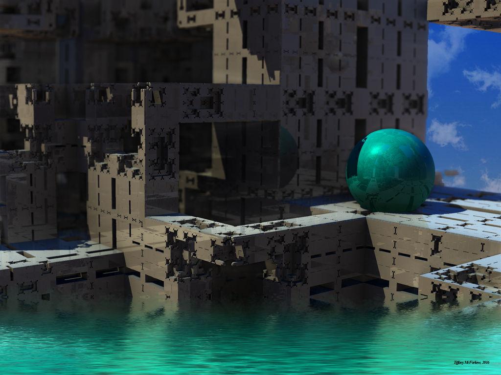 Deco City Ruins
