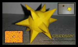 Discostar 3D Fractal Print
