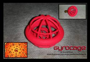 Gyrocage 3D Fractal Print by tiffrmc720