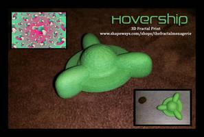 Hovership 3D Fractal Print by tiffrmc720