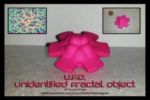 U.F.O. 3D Fractal Print by tiffrmc720