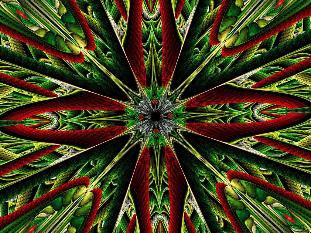 Fractal Wreath