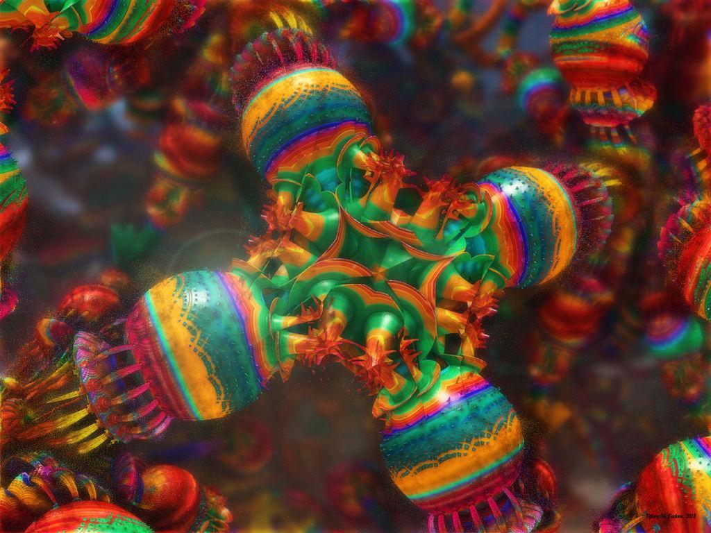 Fruity Fractal Fungi by tiffrmc720