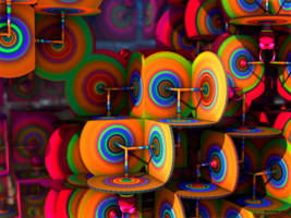 Tie Dye Bullseyes by tiffrmc720