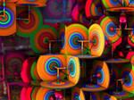 Tie Dye Bullseyes