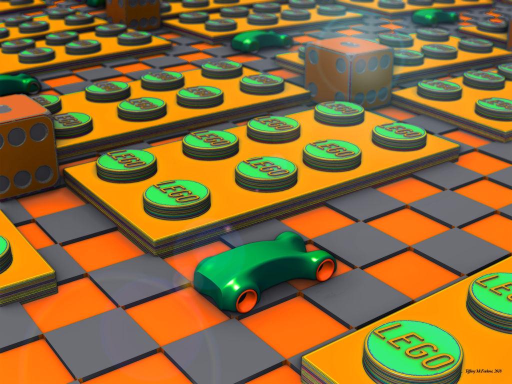 Lego Dice Game