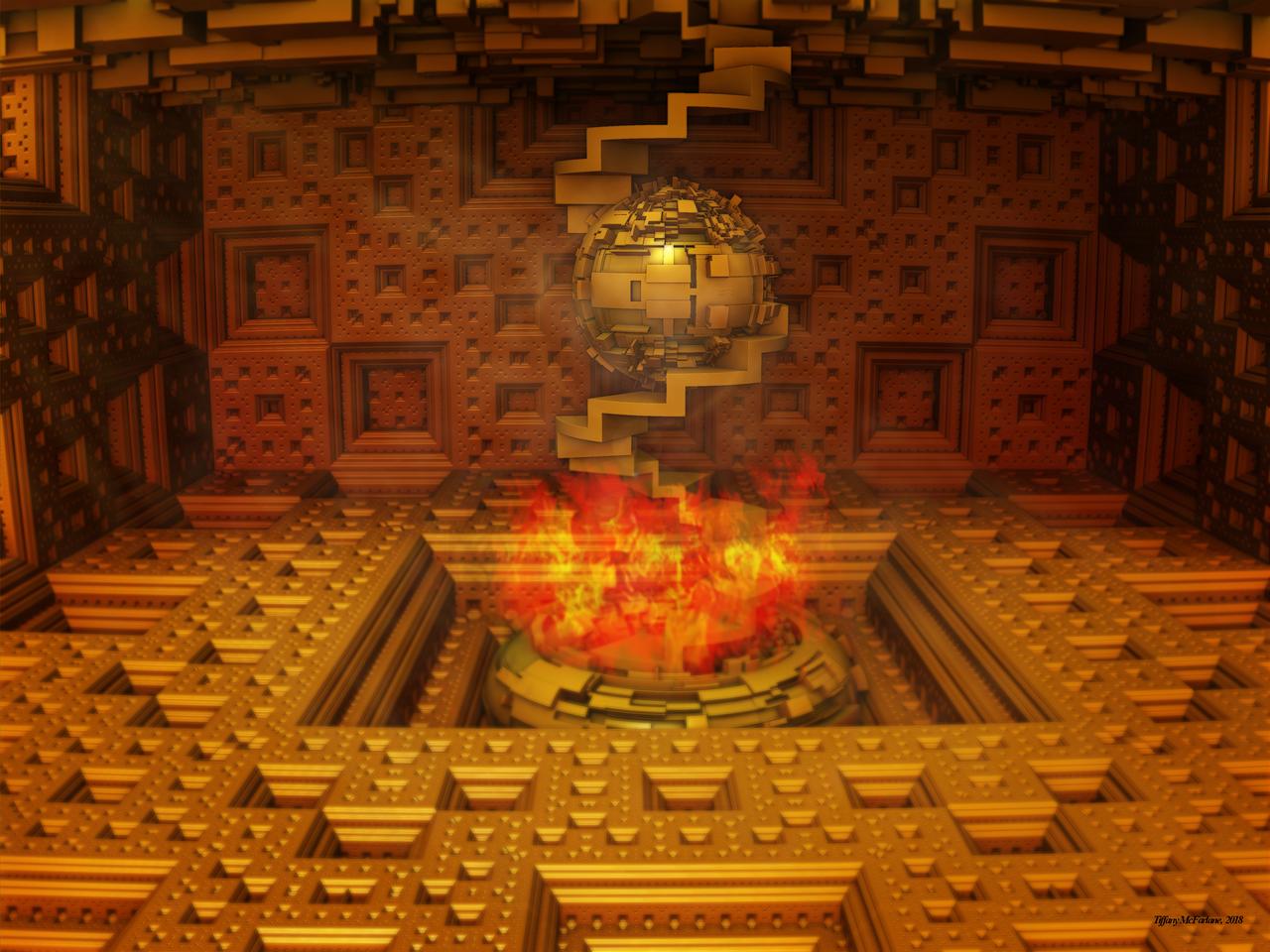 The Golden Atrium