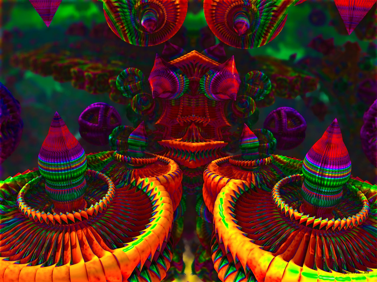 Candy Colored Carousels by tiffrmc720