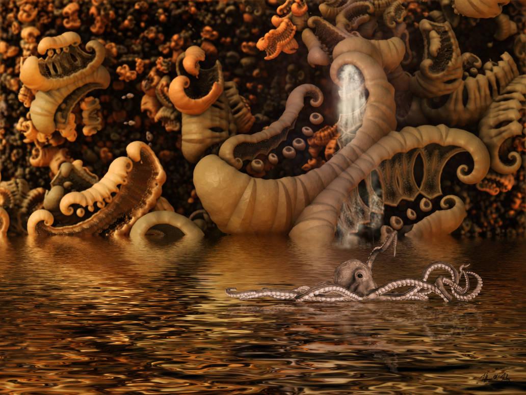 Fractal Reef by tiffrmc720