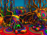 Persistence Of A Psychedelic Dream