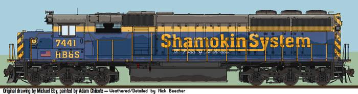 Weathered Shamokin SD50 by Sampug394